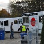 Photo of Food Trucks at new Solstice Steps celebration