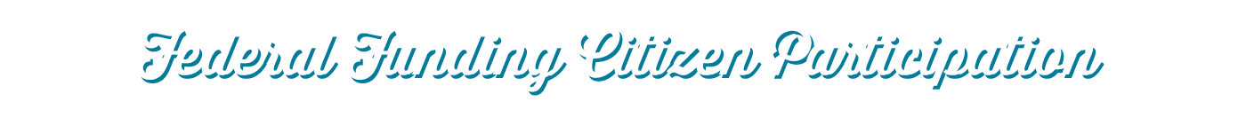 Lakewood's Federal Funding Citizen Participation Process