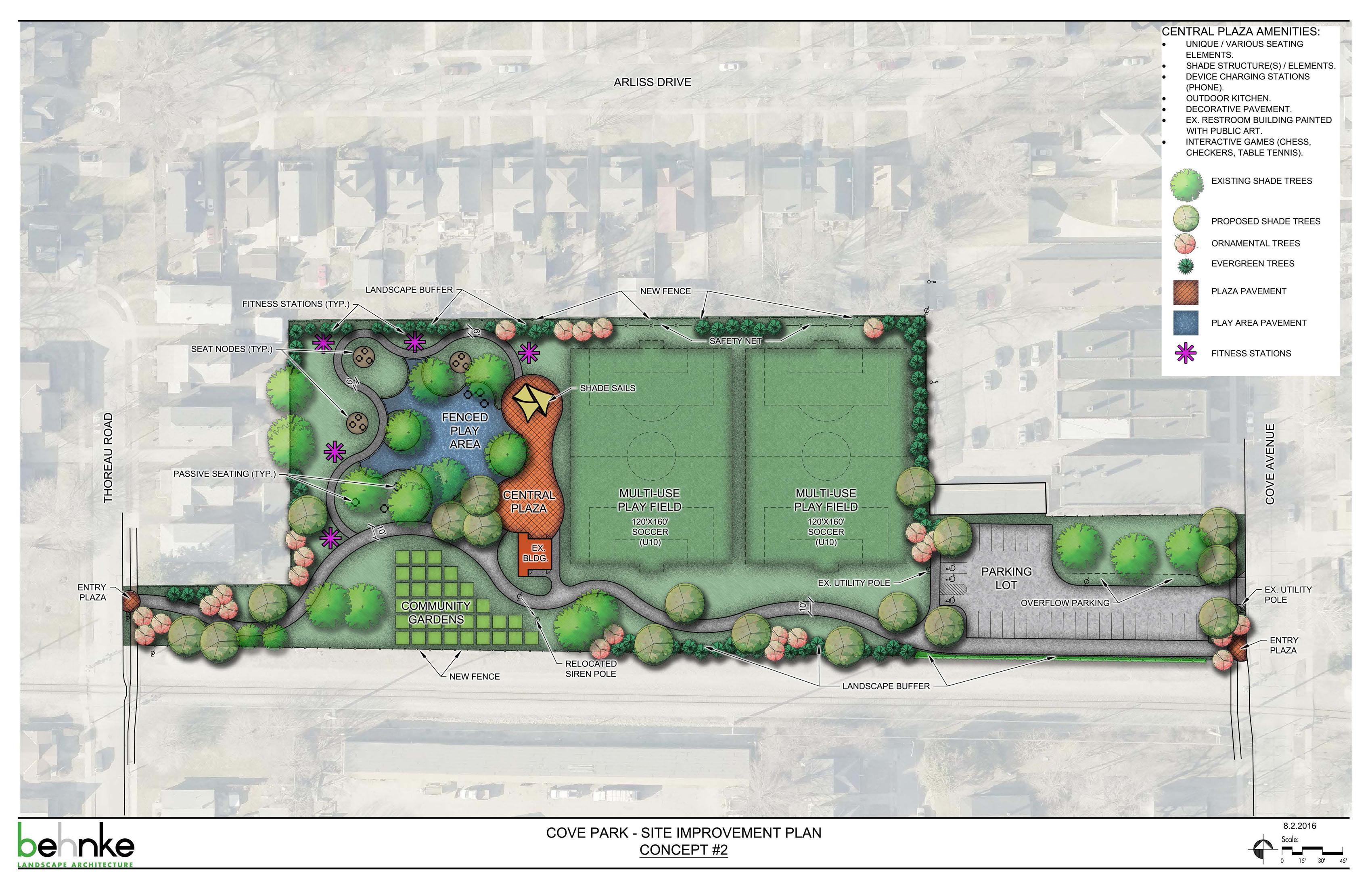 Cove Park Concept 2