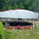 Photo from Wastewater Treatment Plant