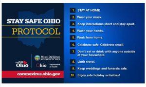 Stay Safe Ohio Protocol Graphic